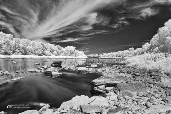« J'ai rêvé une rivière », détail, Claude Gagné